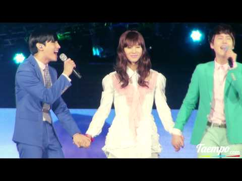 l2O8l8 Pretty Taemin serenaded & kissed by Changmin & Kyuhyun fancam @ $MT0WN$eoul