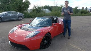 Here's Why the Original Tesla Roadster was a Total Failure