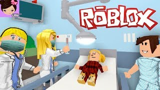 My Baby Goldie Got Sick in Bloxburg! I Took her to The Roblox Hospital  - Roleplay  Titi Games