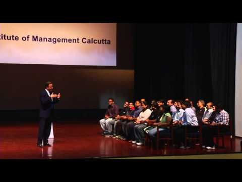 David Cameron at IIM Calcutta (Part 1/2)