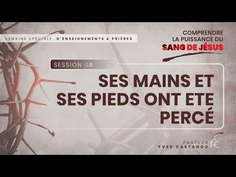 Séminaire spécial : Comprendre La Puissance du Sang de Jésus - Session 6 - Pasteur Yves Castanou