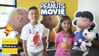 THE PEANUTS MOVIE Adventure at the CHARLES M. SCHULZ MUSEUM!