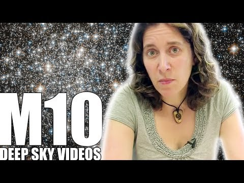 Messier 10 and Orbits - Deep Sky Videos