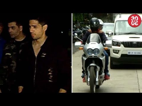 Ranbir, Sidharth & Karan Hang Out Together | Akshay Takes A Bike Ride In The City With Bhumi