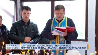 """Parteneriat social intre Protopopiatul Sector 3 si Biserica """"Sfantul Anton""""-Curtea Veche"""