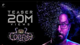 Cobra - Official Teaser | Chiyaan Vikram | AR Rahman | R Ajay Gnanamuthu | 7 Screen Studio