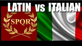Latin vs Italian - How Much do They Actually Differ?