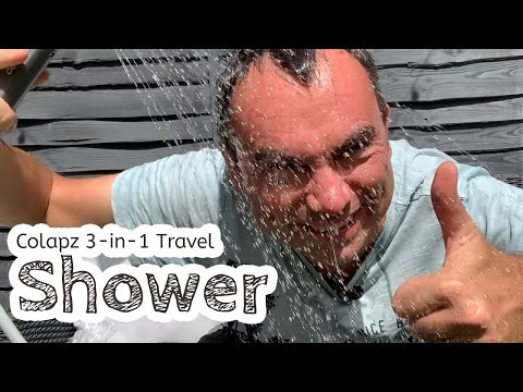 video Portable Shower (and Hose!)