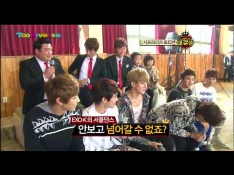 121129 Tooniverse Problem Solver King - EXO-K's KAI DANCE CUT
