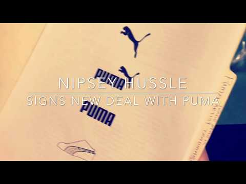 "Nipsey Hussle Does It Again Signs A Endorsement Deal With Puma ""Boss Moves"""