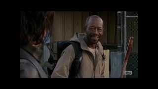 The Walking Dead 5x16 Morgan saves Daryl Dixon & Aaron