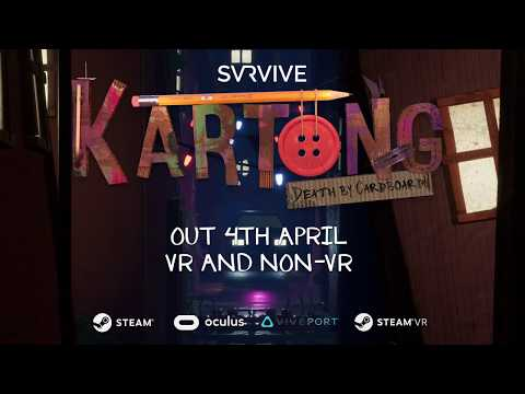 Kartong - Death By Cardboard! - Official Trailer | VR & Non VR