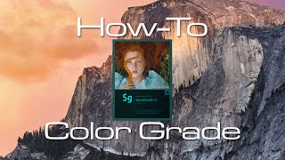 How I Use Adobe SpeedGrade CC 2014 - Tutorial