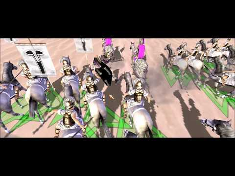 Rome Total War Online Battle #2494: Salty 1 Unit Free For All