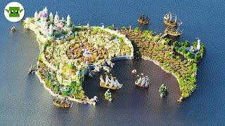 Kadjar City - A Minecraft Timelapse