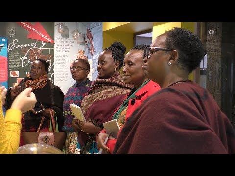 Tanzaniako bost emakume baserritarren bisita Ordiziara