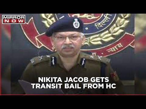 Nikita Jacob granted 3-week bail in the toolkit sedition case