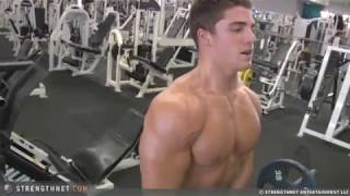 Spencer Neville Working Out at 18 years old
