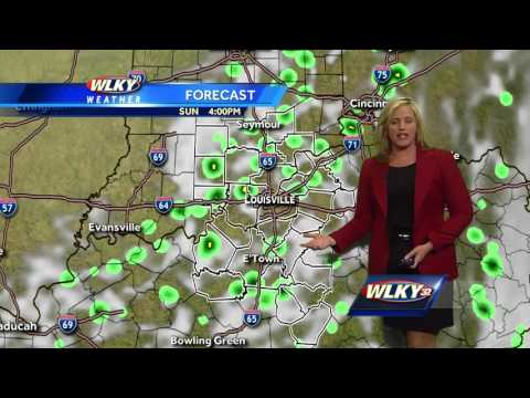 Warm with Isolated Storms Possible Sunday