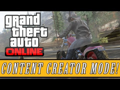 "GTA 5: ONLINE   New ""Content Creator Mode"" Gameplay   Future Heist DLC Details! (GTA V) - Smashpipe Games"