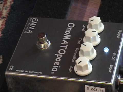 Emma Electronics Emma Electronic OMP-1 OnoMATOpoeia Booster Overdrive Pedal