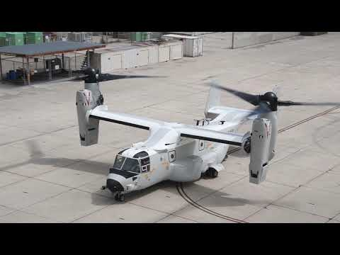 U.S. Navy first operational CMV-22B arrives at Naval Air Station North Island