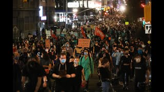 Protesters March Across NYC Following Decision in Breonna Taylor's Killing by Cops | NBC New York