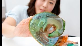 LG Rollable P-OLED Display