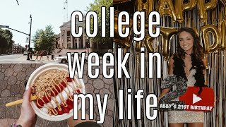 college week in my life at bama: turning 21 *emotional*