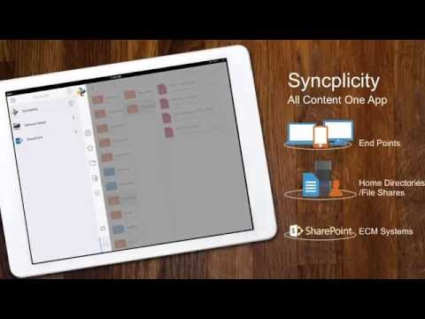 Syncplicity Product Feature - Panorama for Admin