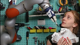 LIVESTREAM: popping bubble wrap with a $100k robot arm