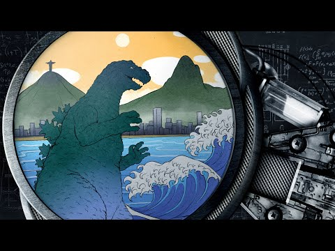 O que os kaijus podem ensinar sobre tsunamis no Brasil   Nerdologia