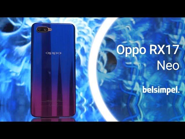 Belsimpel-productvideo voor de Oppo RX17 Neo 128GB Blue