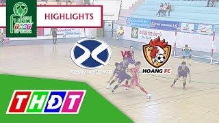 Highlights Futsal Truyền hình Đồng Tháp | Bảo hiểm Xuân Thành Đồng Tháp vs Hoàng FC TP. HCM | THDT