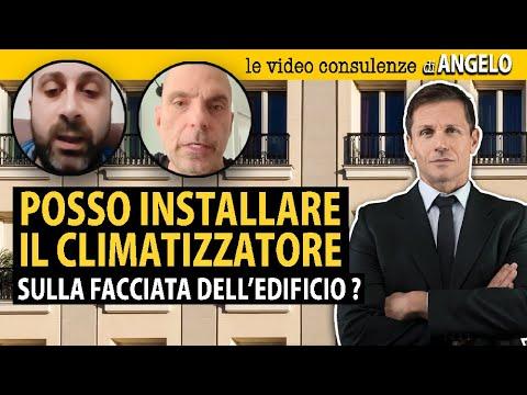 Installazione CLIMATIZZATORE sulla facciata dell'edificio | Avv. Angelo Greco