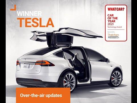 Tesla wins 2021 What Car? Technology Award