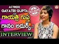 Actress Gayatri Gupta sings a song in an interview