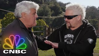 Guy Fieri And Jay Leno Show Off A 1968 Camaro Convertible | Jay Leno's Garage