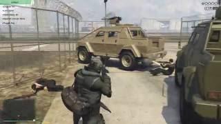 Tấn Công Khu Quân Sự Trong GTA V Cùng 500 AE Phần 2 - ThanhTrungGM