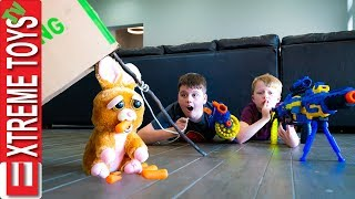 Ethan and Cole try to Capture the Easter Bunny! X-Shot Holiday Hustle!