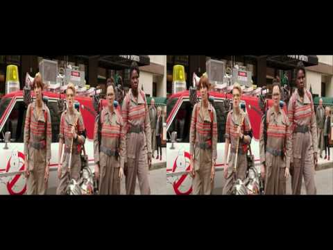 Ghostbusters 2016 3D Trailer G in 3d