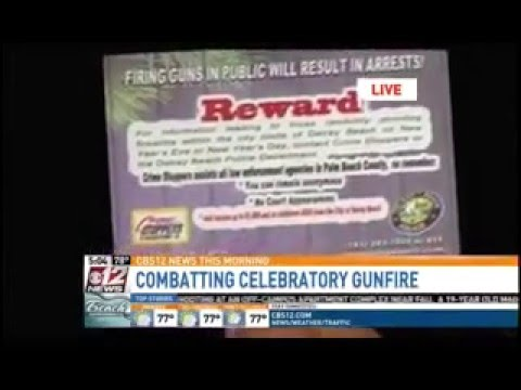 Riviera Beach Celebratory Gunfire ShotSpotter