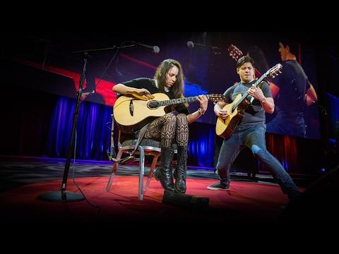 An electrifying acoustic guitar performance   Rodrigo y Gabriela