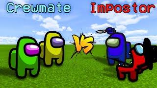 CREWMATES vs. IMPOSTORS in MINECRAFT    AMONG US!
