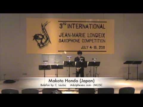 3rd JMLISC: Makoto Hondo (Japan) Balafon by C. Lauba