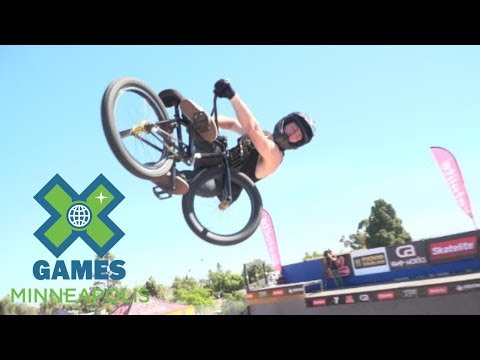 Vince Byron places first at X Games Vert Qualifier