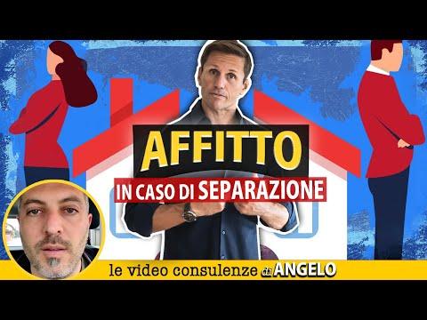Contratto AFFITTO e SEPARAZIONE della coppia convivente   Avv. Angelo Greco