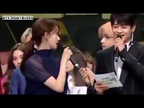 181231 BTS V TAEHYUNG & SNSD YOONA 'SINGULARITY'   2018 MBC GAYO DAEJAEJUN