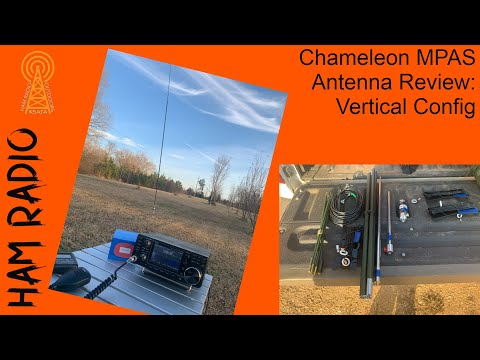 Chameleon MPAS 2.0 Antenna Review: Vertical Configuration