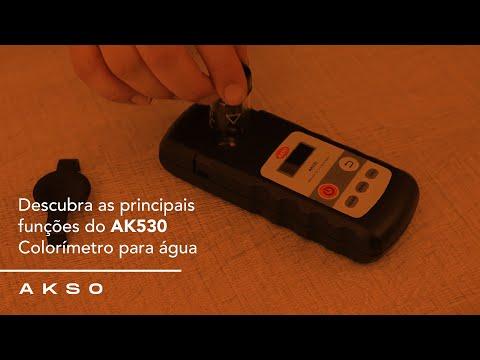Descubra as principais funções do AK530!